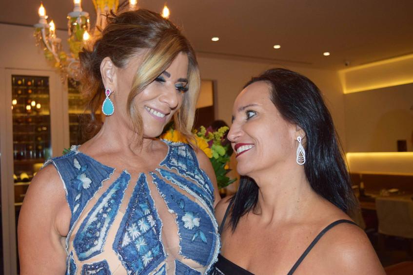 Claudia Bueri e Valeria Peixoto