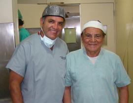 Dr. Enzo Rivera e Dr. Ivo Pitanguy