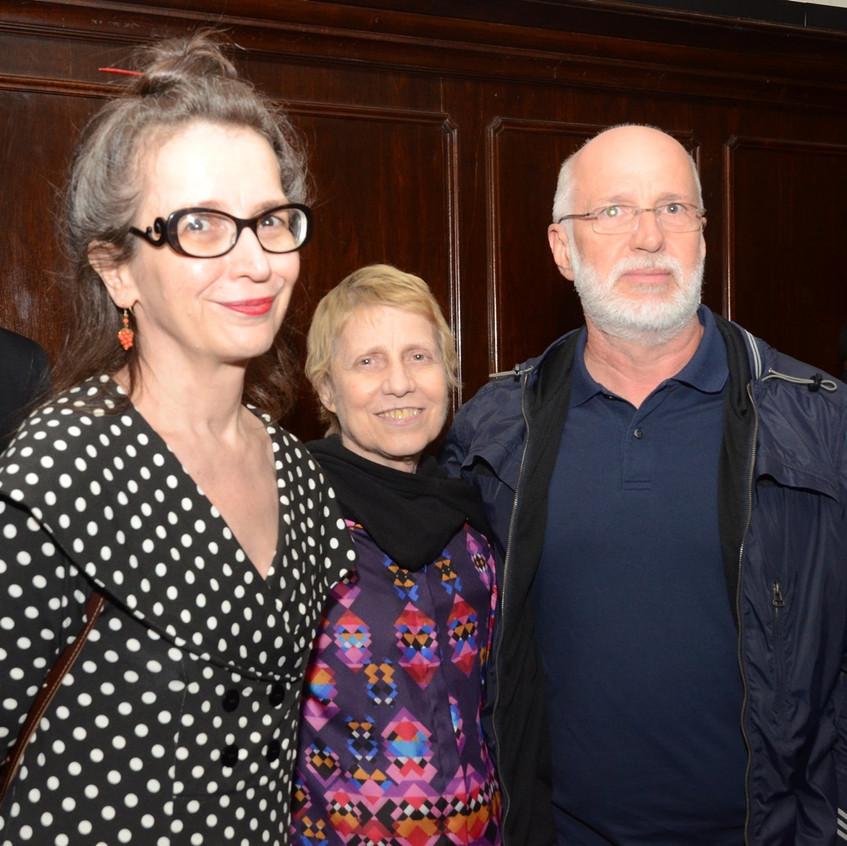 Ana Miguel, Brigida Baltar e Renato Beze