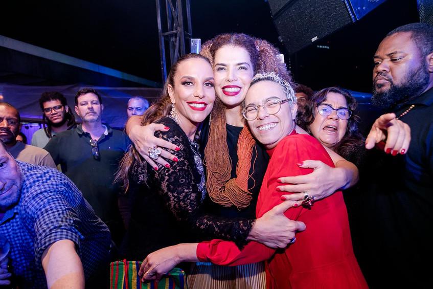 Ivete Sangalo Vanessa da Mata e Maria Ga
