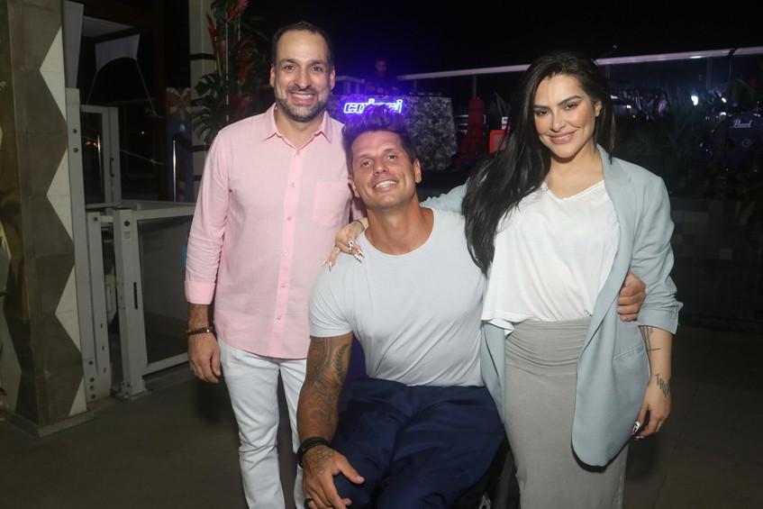 Marcelo Melo, Fernando Fernades e Cleo P