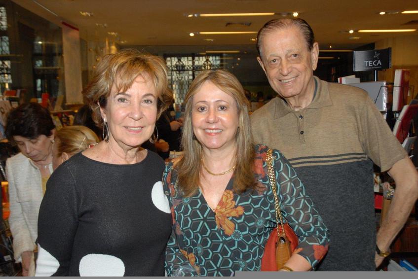 Lourdes Gamba, Denise e Cassiano Lopes
