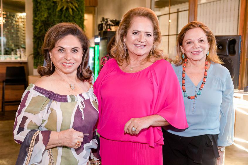 Cleuba Verri, Renata Fraga e Adelina Bit