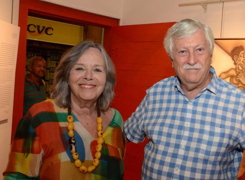Rosiska Darcy de Oliveira e Mathias Marc