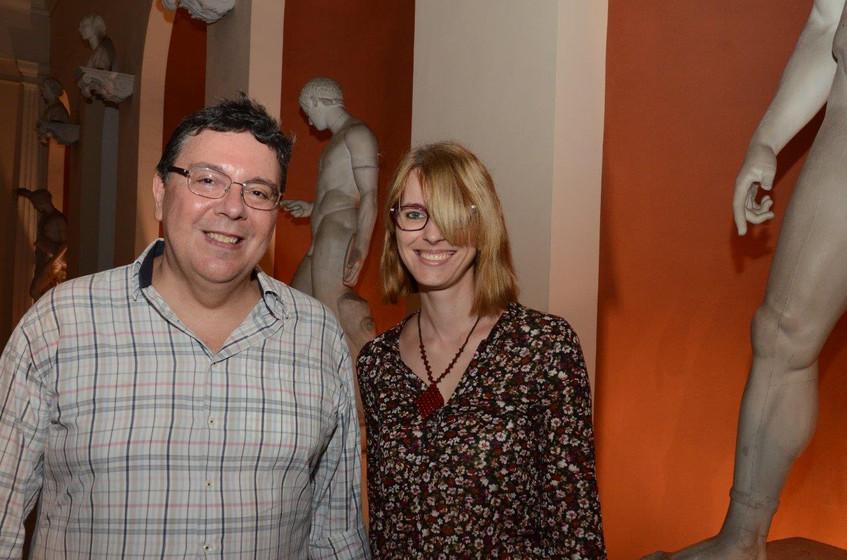Eduardo Cavalcanti e Micheline Menin