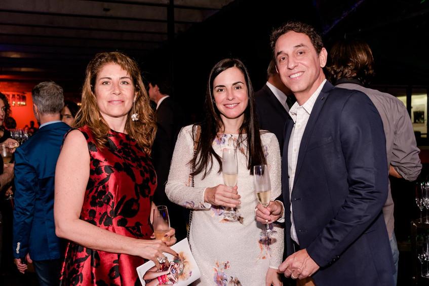 Claudia Silva Andrea Juannes e Reinaldo