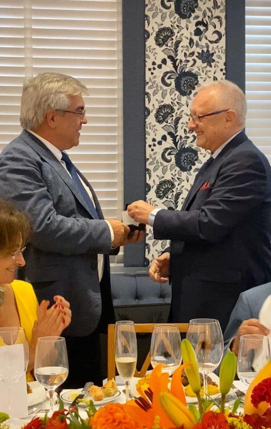 Gilberto Ururahy e Michel Lebon