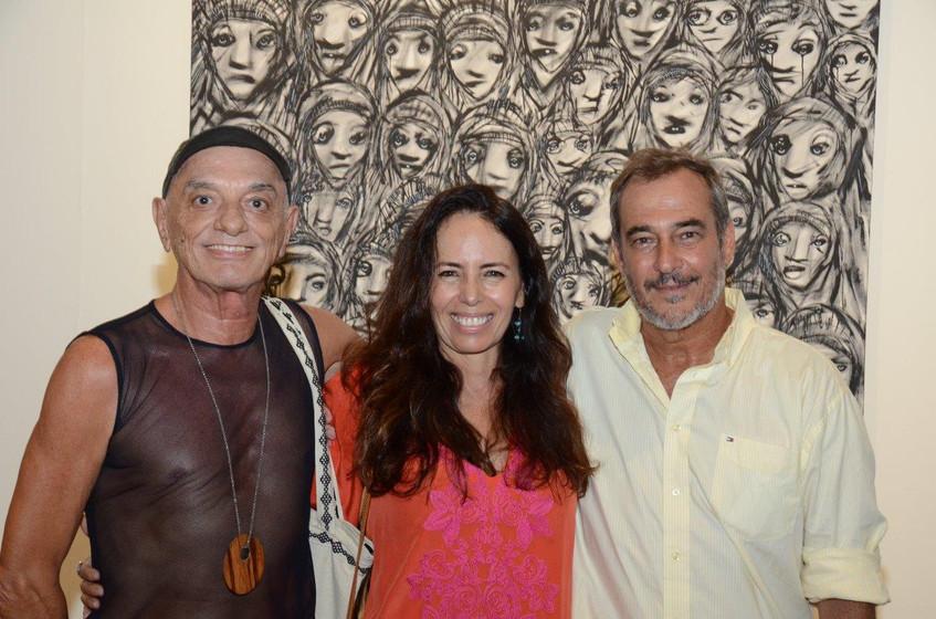 Bayard Tonelli, Beth Modesto e Jorge Bar