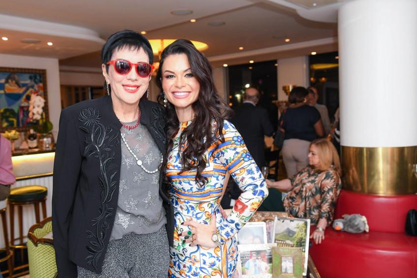 Bruna Castro com Yacy Nunes