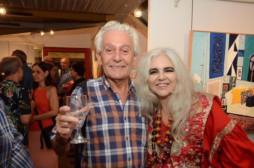 Bernard Martinez e Helenice Dornelles