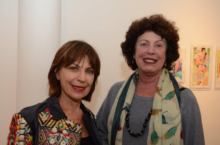Anita Schwartz e Lygia Marina de Moraes.