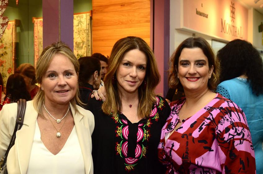 Paula Vianna, Andrea Monteiro e Eduarda