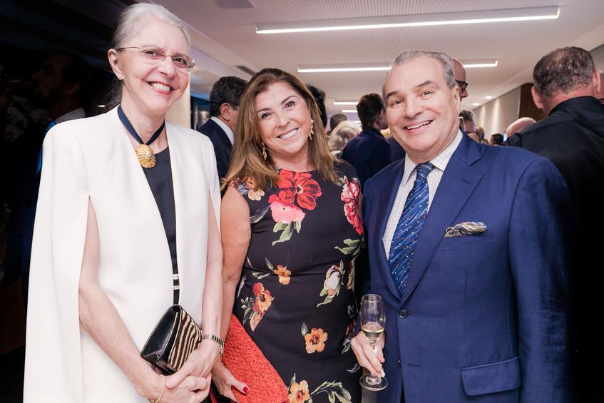 Eileen De Athayde e Lucia Vidigal e Luiz