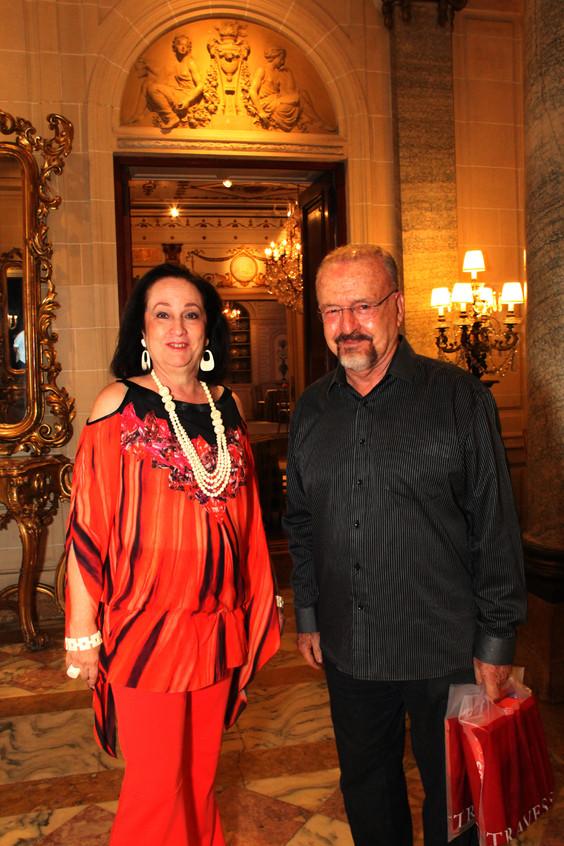 Beth Serpa e Ricardo Cravo Albin