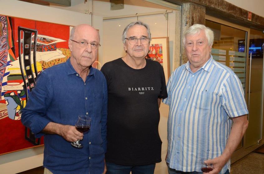 Evandro Carneiro, Ernesto Chaves e Mathi
