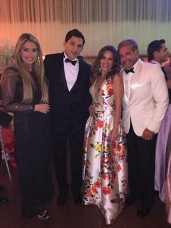 Maria Clara Botelho, Norman Delmas, Adriana de Rivera e Enzo Rivera
