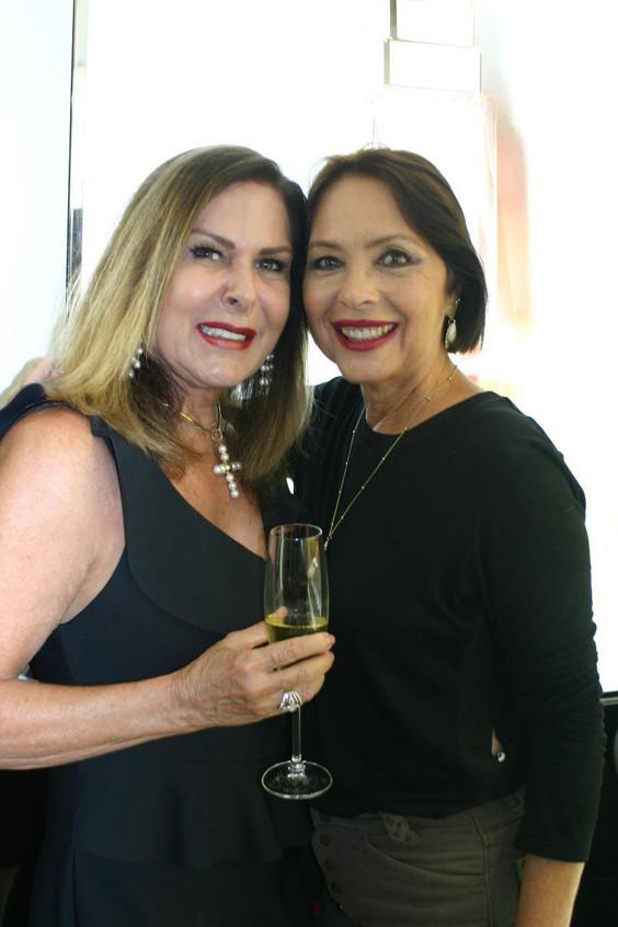 Dirce Mota e Shirley Carvalho