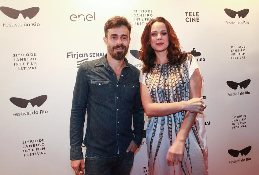 Erom Cordeiro e Vanessa Gerbelli