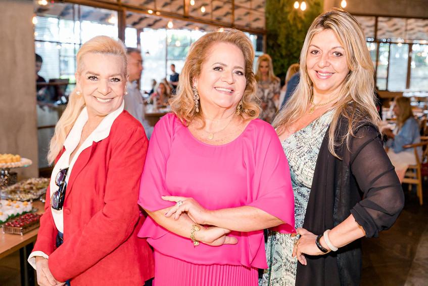 Vera Bangel, Renata Fraga e Leila Esposi