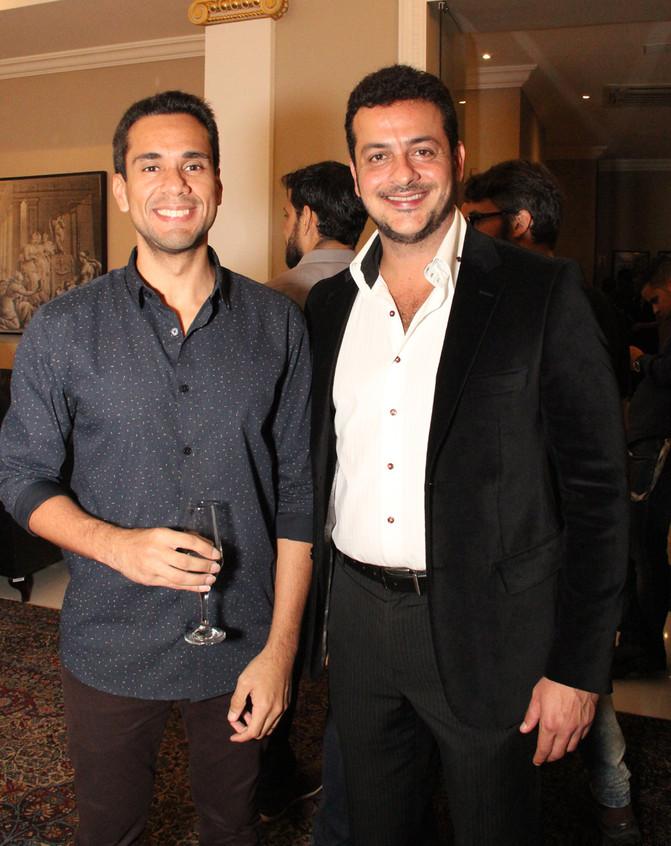 Welington Moraes e Roberto Padula