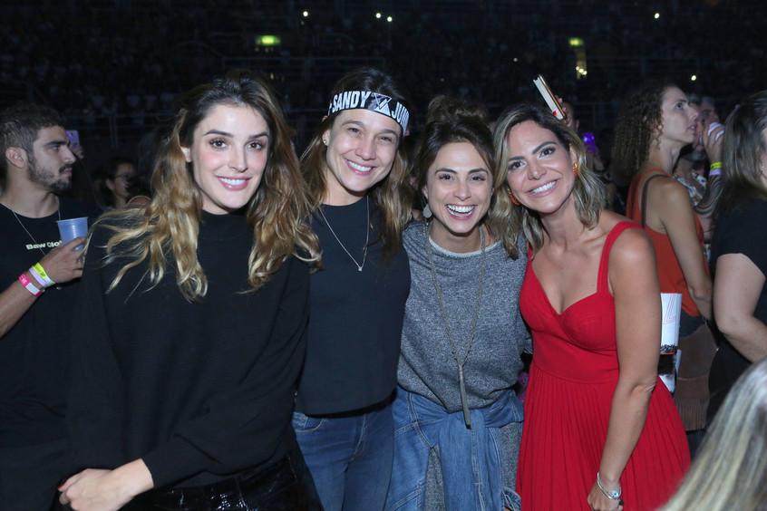 Rafa Brites, Fernanda , Priscila e Carol