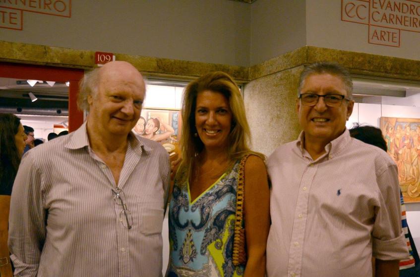 Patrick de Mayer com Cristina e Sergio G