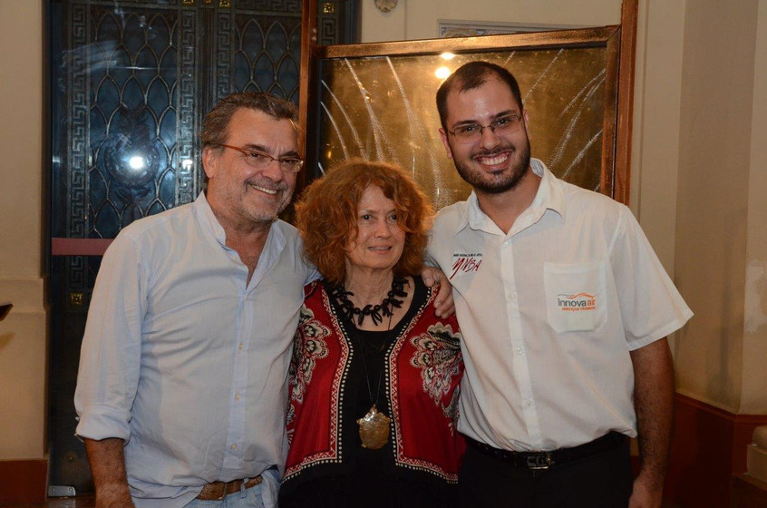 Antonio Mendel e Josely Carvalho e Pedro