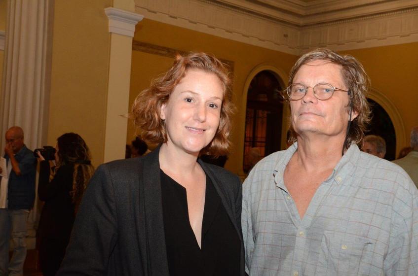 Ana Elisa Cohen e Pat Kilgore