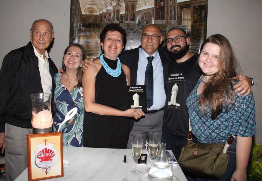 Luiz Carlos Pugialli e a familia