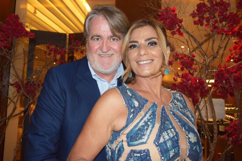 Claudia Bueri e Jonas Suassuna