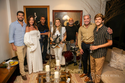 A família com a Banda