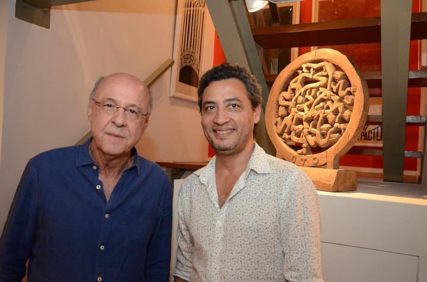 Evandro Carneiro e Nelson Muniz