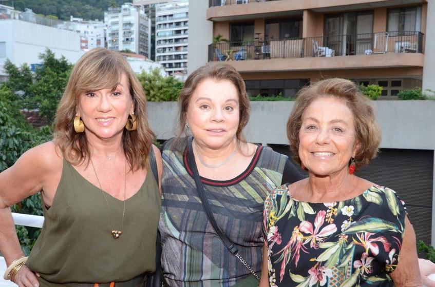 Eva Taquechel, Anette Coutinho e Ana Bre