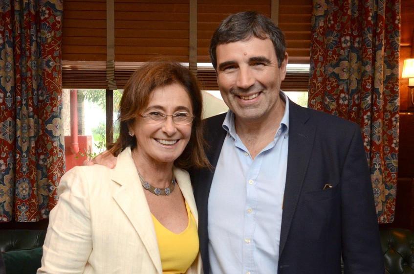 Claudine Bechara e Eric Berthelot