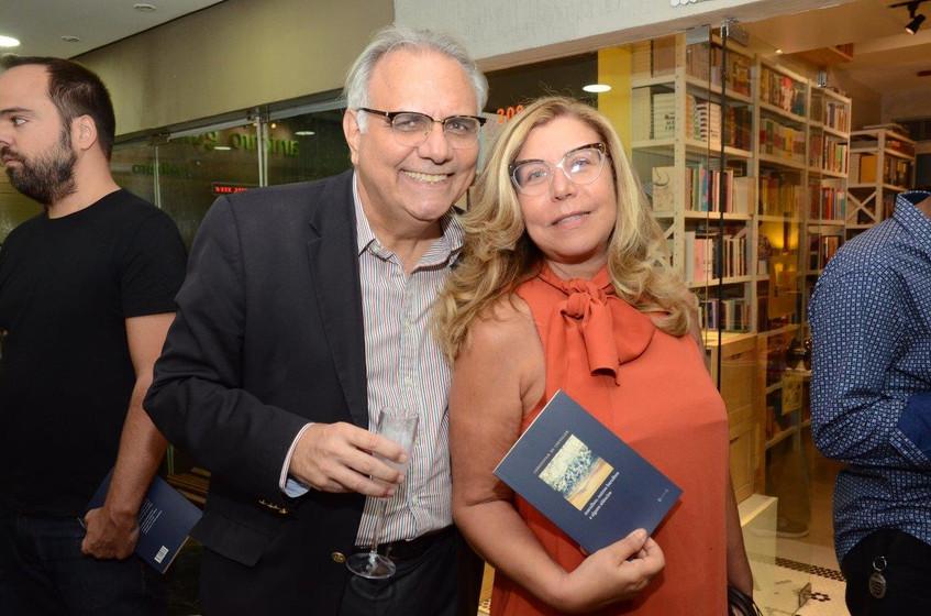 Franklin Toscano e Raquel Senna