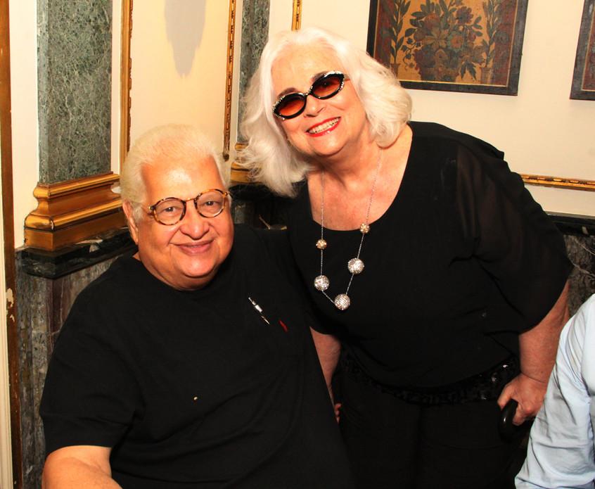 Carlos Serpa e Hildegard Angel