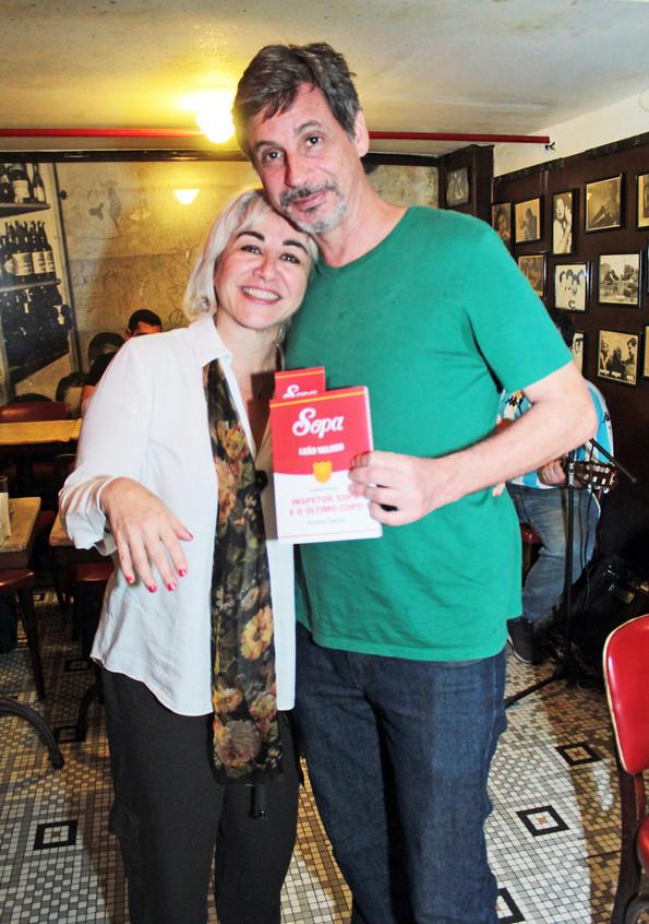 3_ Andréa Gaspar e Rogério Jordão