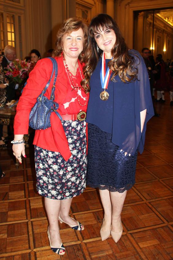Ana Maria Goldemberg e Adriana Horta