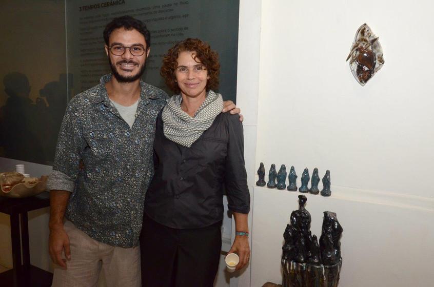 Luiz Rocha e Thelma Innecco