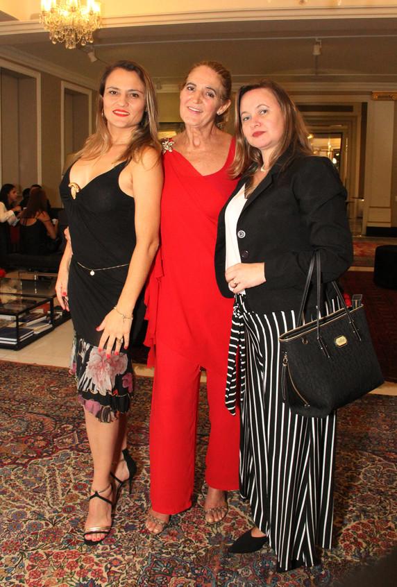 Silmara  Rufato, Simone Rodrigues e  Kat