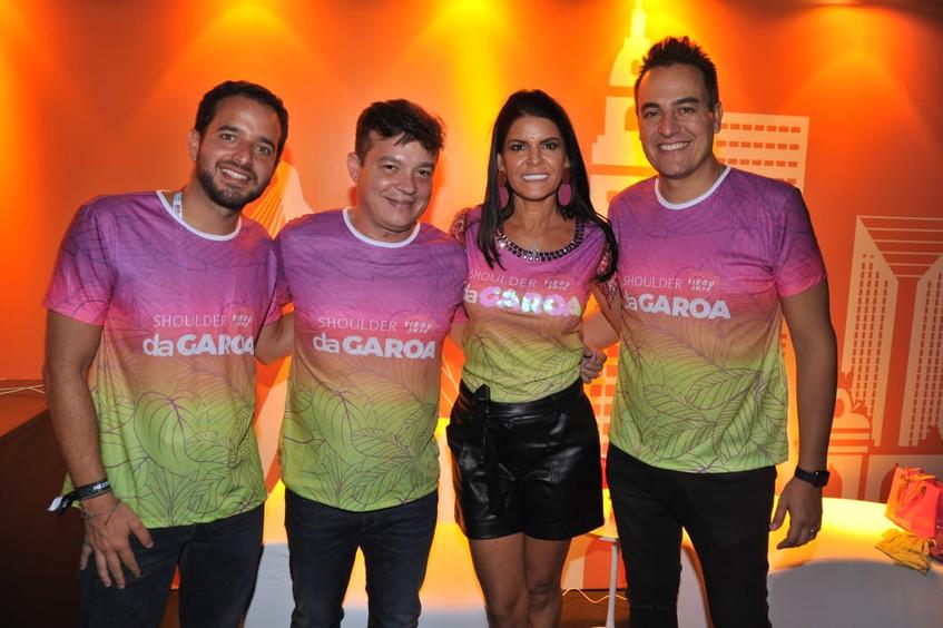 Chico Barbuto, Carlos Xavier, Margarete