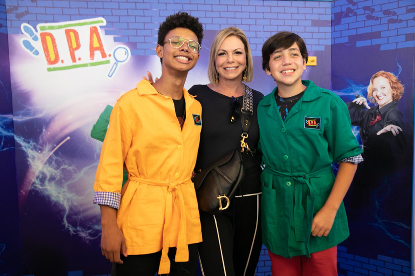 Anderson Lima, Nina Kauffmann e Pedro He