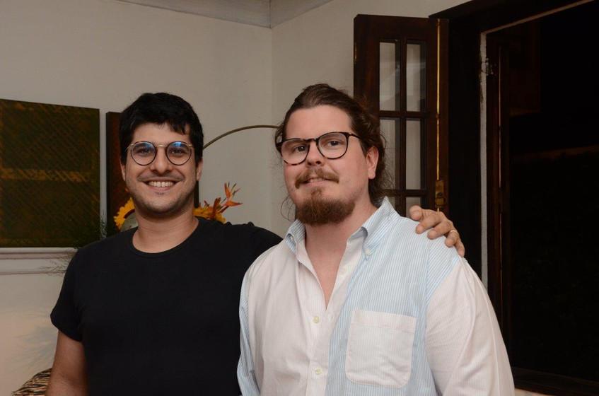 Luiz Gustavo Neive e Bernardo Souza e Si