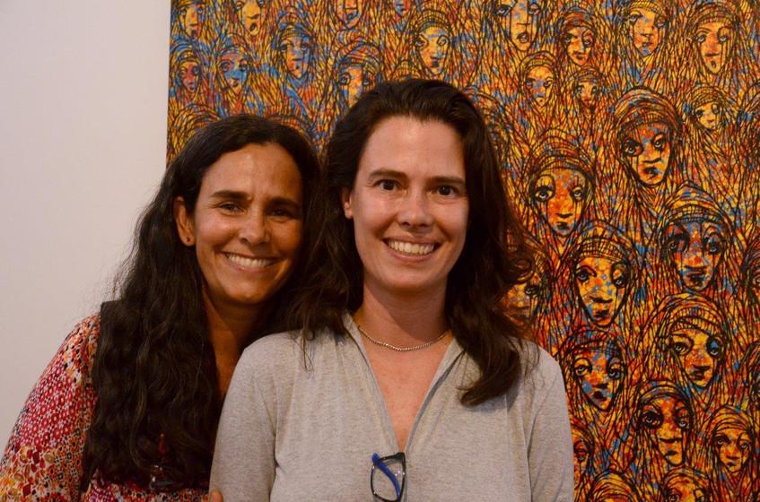 Tiana Rodrigues e Fabiana Cunha