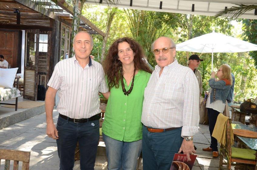 Jean Paul Charlier, Cristina Braga e Cla