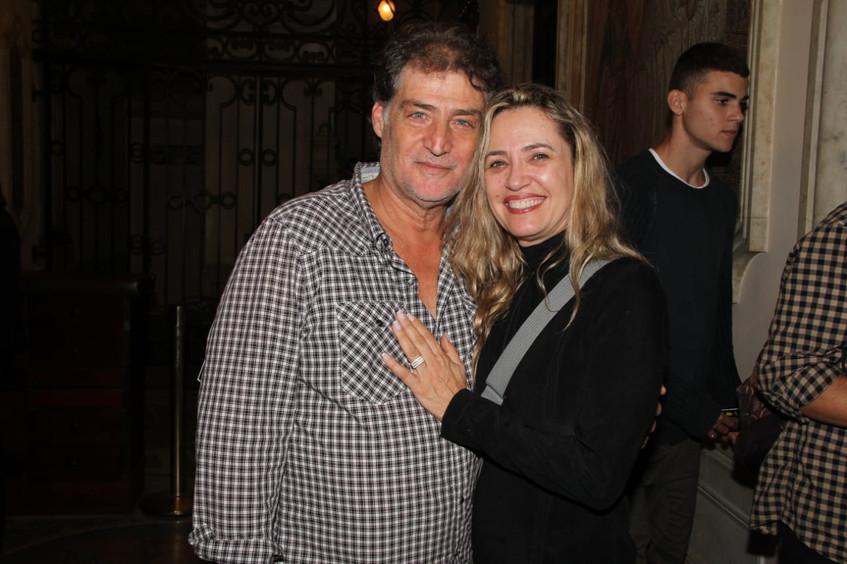 Giuseppe Oristanio e Silvana Campos