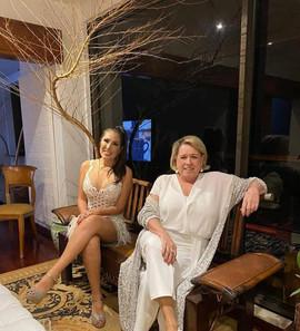 Dra. Karen e Regina Celia Pereira