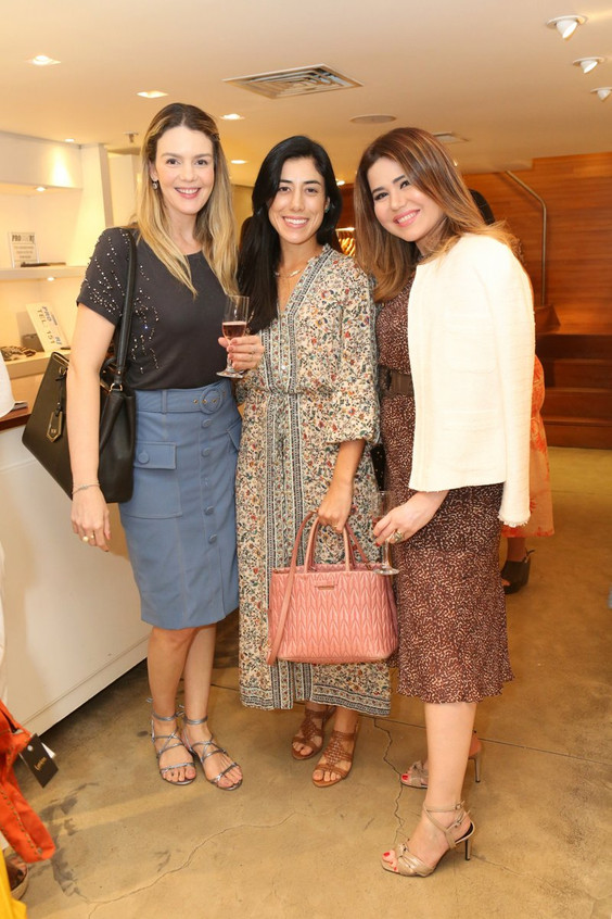 Vanessa Metz, Luciana Sotto e Didi Maia