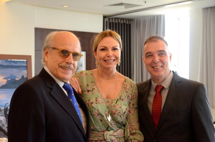 Claudio Aboim, Nina Kauffmann e Bayard B