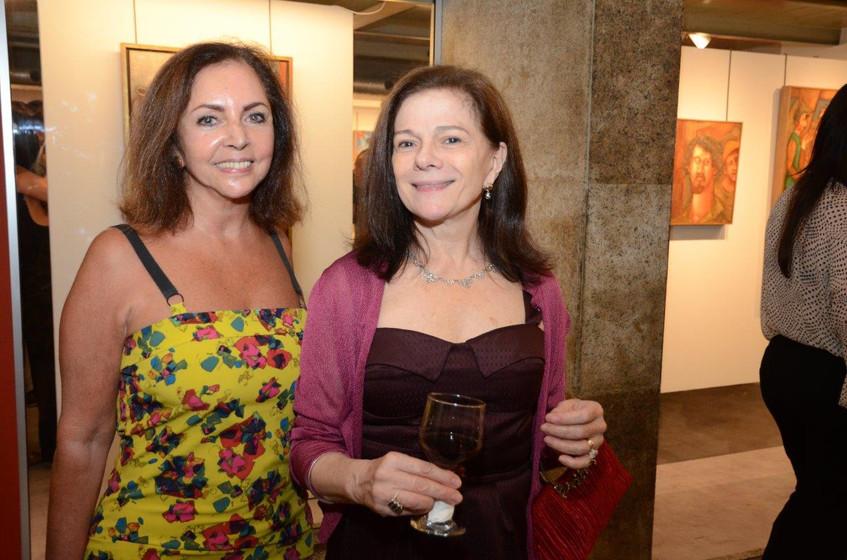 Nilga Chamoun e Tessy Callado